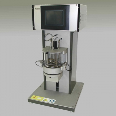 automatic equipment for the determination of the softening point of the ball and ring bitumen method ASTM D 36 IP 58
