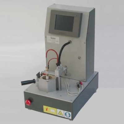 flash and fire point tester cleveland automatico con correzione barometrica del risultato ASTM D 92 IP 36 ISO 2592